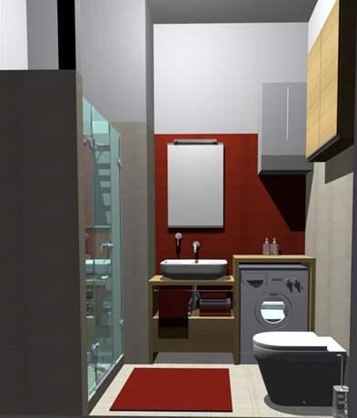 Spojení koupelny a WC