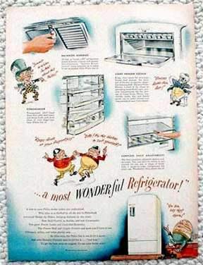 Reklama Philco 1941
