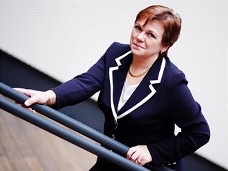 Ing. Vlasta Dolanská - výkonná ředitelka Poštovní spořitelny