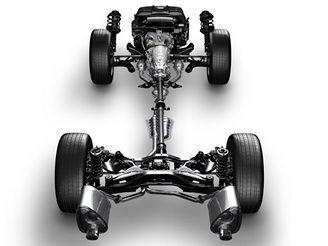 Systém symetrického pohonu všech kol Subaru