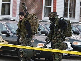 Policejní snipeři v Rochesteru