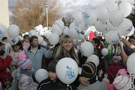 Balónkový rekord v Českých Budějovicích