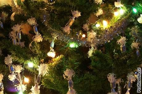 Vánoce, vánoční stromek, ozdoby