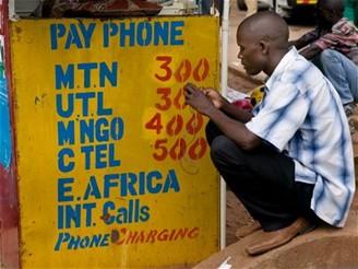 Mobilní síť Uganda
