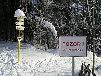 Běžkařský výlet z Valašských Klobúk na slovenský Vršatec