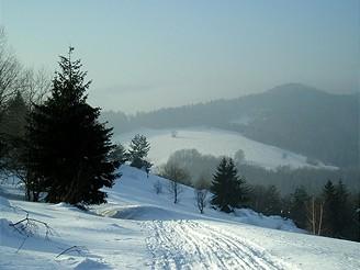 Běžkařský výlet na slovenský Vršatec