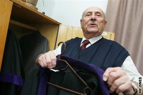 končící soudce Jiří Bernát