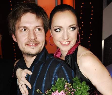 herečka Tatiana Vilhelmová s manželem, filmovým produkčním Pavlem Čechákem