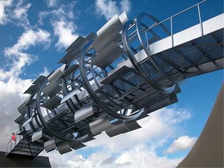 Větrný most pro pěší