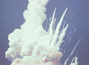 Exploze Challengeru