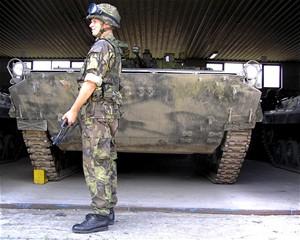 Výzbroj vojáka Armády ČR