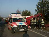 Nehodu u Ševětína na Českobudějovicku nepřežili dva lidé