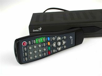 Set-top box Genius TVGo T32 - d�lkov� ovlada�
