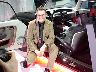 Tatra 603 Premium Attitude - šéfdesignér Thorsten Süss