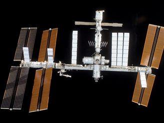Takhle vypadá ISS v říjnu 2007