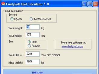 BySoft Free BMI Calculator