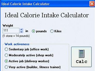 Ideal Calorie Intake Calculator