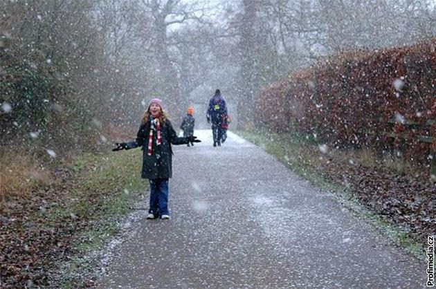 po�así, sníh, chladno