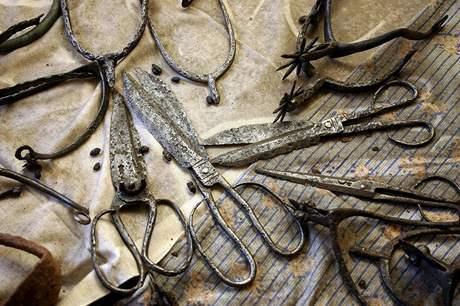 Archeologická sbírka z vyhořelého bytu
