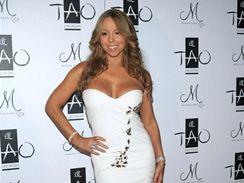 Mariah Carey oslavovala Nový rok v klubu Tao