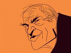Milan Kundera (karikatura)
