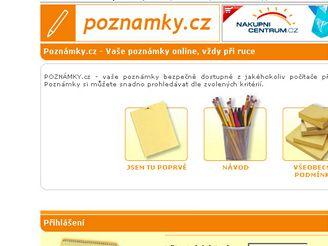 Poznámky.cz