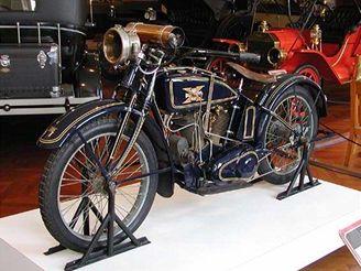 Motocykl Charlese Lindbergh