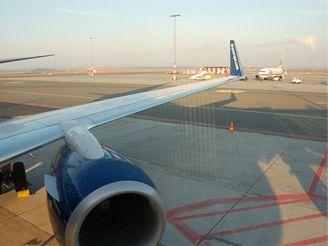 Ráno na letišti
