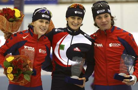 Martina Sáblíková vyhrála na ME 3 kilometry