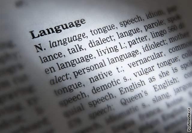 slovník, angličtina