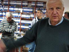 Otakar Černý ve sportovní redakci
