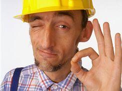 Stavební práce, stavba, zedník