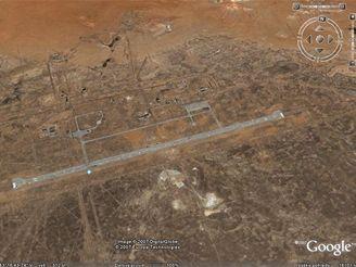 Letiště Jubilejnyj pro přistávání raketoplánu Buran na Bajkonuru