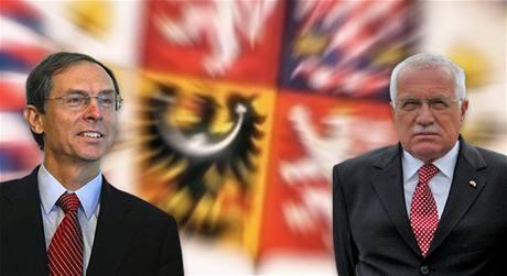 Václav Klaus a Jan Švejnar