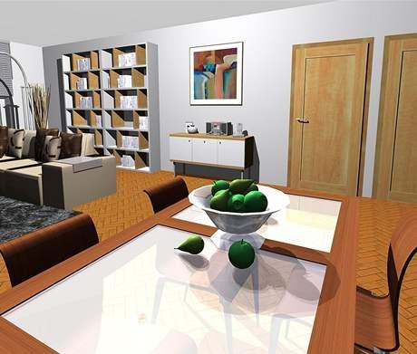 Kompletní rekonstrukce bytu pro tříčlennou rodinu