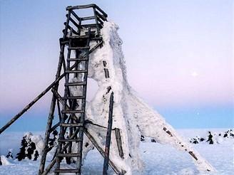 Vyhlídková věž na Velké Deštné