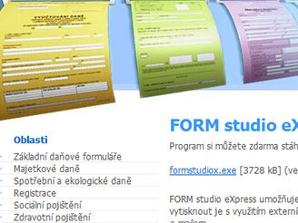 Form studio eXpress