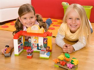 Lego holčičky - ilustrační fotka