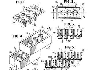 Patent na LEGO kostičku