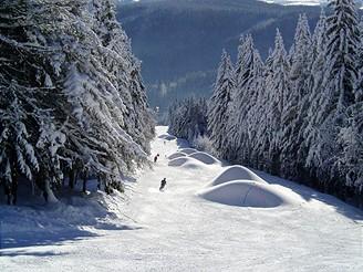 Krkonoše, Skiaréna Černá hora - Janské Lázně
