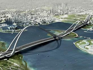 Most v Dubaji