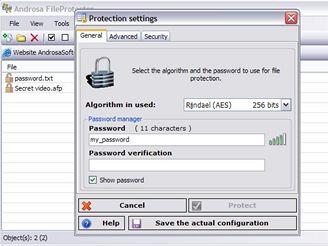 Androsa FileProtector 1.4.2