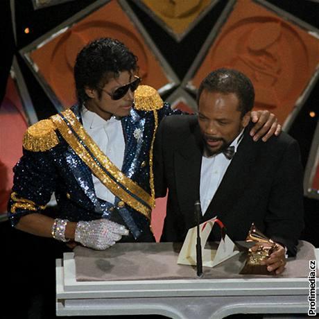 Michael Jackson a Quincy Jones