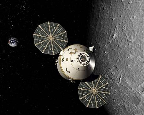 Orion nad M�sícem