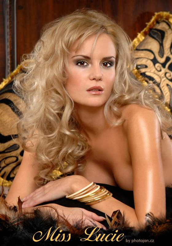 Lucie Hadašová v magazínu Playboy
