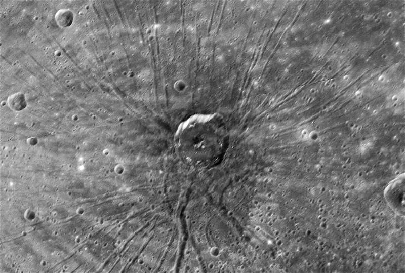 Pavouk v pánvi Caloris