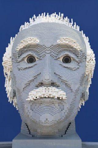 Lego Einstein- ilustrační fotka