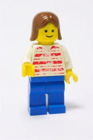 Lego panáček - ilustrační fotka
