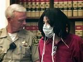 Michael Jackson v soudn� s�ni