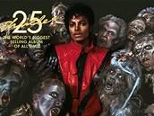 Michael Jackson - obal alba Thriller 25